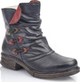 NAVY ANTIQUE BOOT
